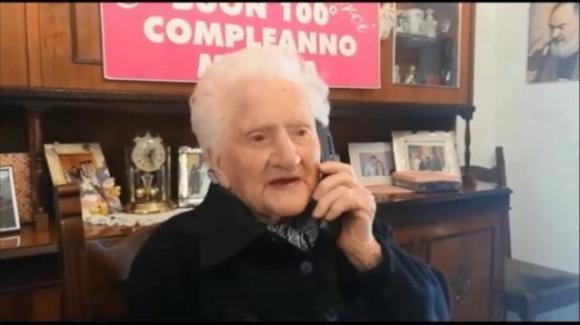 Venezia: nonna Prima Brentel racconta come è arrivata a 106 anni