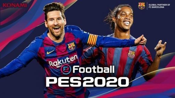 eFootbal PES 2020: ufficiale il nuovo videogame calcistico per Android e iOS
