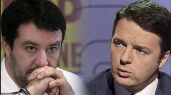 Salvini definisce Renzi, il leader di Italia Viva, genio incompreso