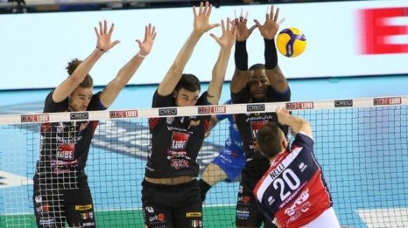 Superlega volley: Lube Civitanova batte Gas Sales Piacenza 3-0