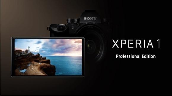 Sony Xperia Professional Edition: il top gamma con nel mirino i professionisti della fotografia