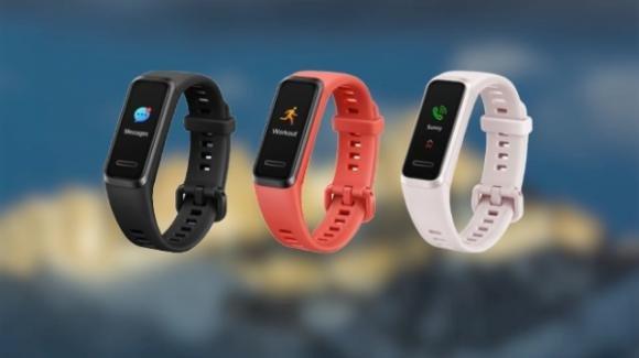 Huawei Band 4: imminente la nuova smartband economica per il fitness