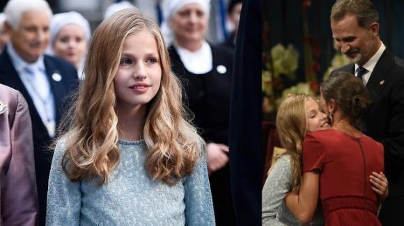 Leonor di Spagna, la futura regina 13enne incanta il pubblico con il suo primo discorso