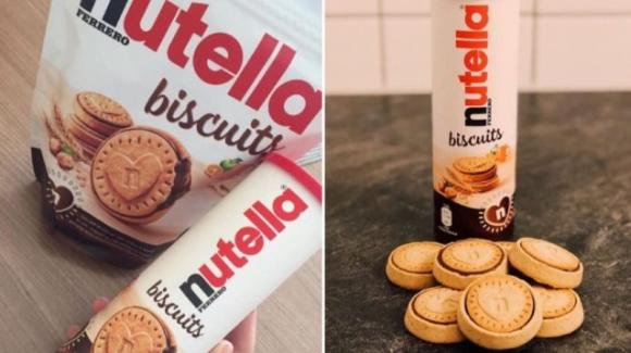 La Ferrero lancia i biscotti ripieni di Nutella: si chiamano Nutella Biscuits