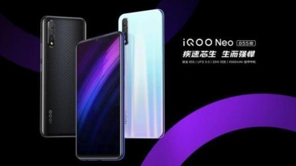 IQOO Neo 855 ufficiale: il gaming phone si fa ancora più potente
