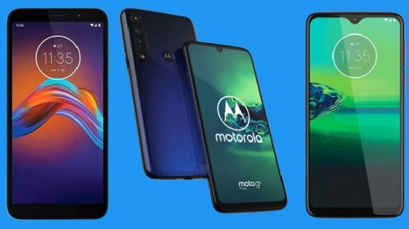 Motorola: ufficiali i nuovi Moto G8 Plus, Moto One Macro e Moto E6 Play