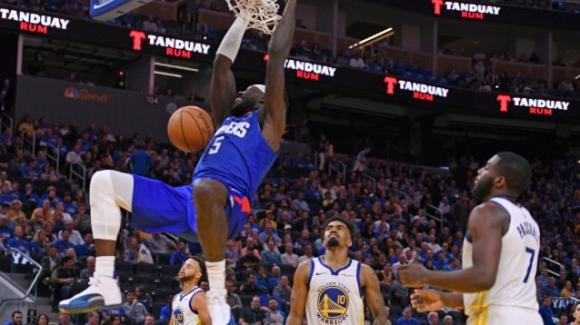 NBA, 24 ottobre 2019: i Clippers devastano i Warriors, vincono Bucks e Hawks