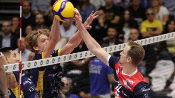 Superlega volley: Gas Sales Piacenza battuto 0-3 da Azimut Leo shoes Modena