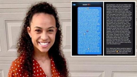USA, SMS al padre defunto: dopo quattro anni una risposta