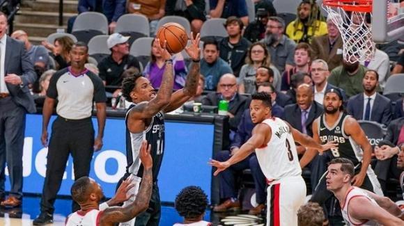 NBA, 28 ottobre 2019: gli Spurs stendono i Trail Blazers, i Rockets battono i Thunder. Tutte le partite