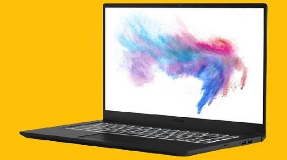 MSI Modern 15: ufficiale il notebook di design per creativi, con processori Comet Lake