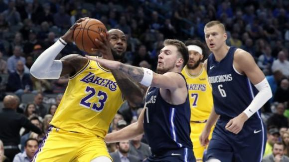 NBA, 1 novembre 2019: Lakers corsari dopo l'overtime a Dallas, i Nets fermano i Rockets