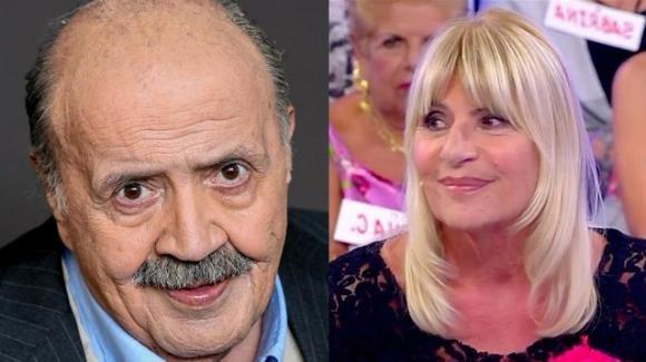 """Maurizio Costanzo difende Gemma Galgani: """"È un volto storico di Uomini e donne, non deve andar via"""""""