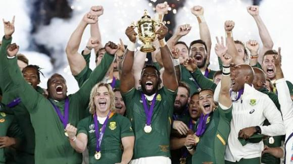 IL Sudafrica è campione del mondo di rugby. Battuta in finale l'Inghilterra