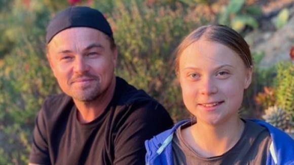 Leonardo DiCaprio insieme a Greta Thunberg su Instagram
