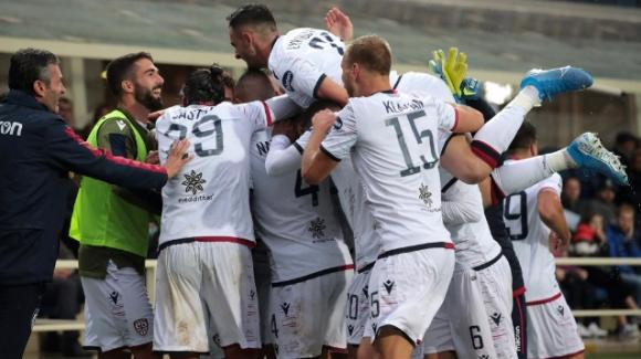 Serie A, il Cagliari vede l'Europa, Atalanta senza reti
