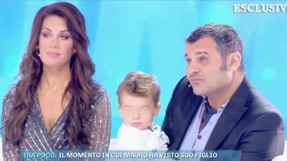 """Domenica Live, Mauro Marin incontra il figlio per la prima volta: """"Mi è mancato tanto"""""""
