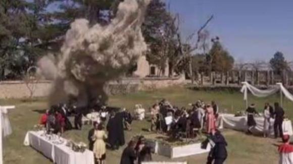 Il Segreto, anticipazioni 5 novembre: una bomba esplode al matrimonio di Fernando e Maria Elena