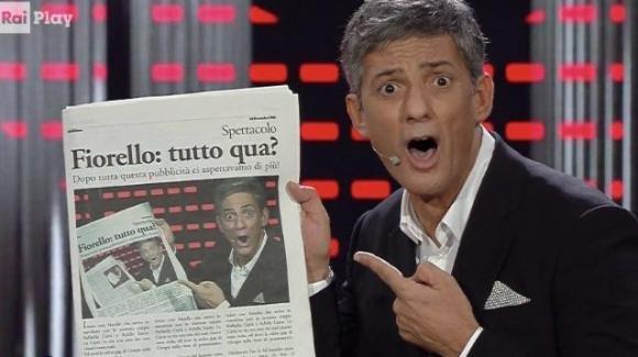 """VivaRaiPlay, lo show di Fiorello: """"Sono il Matteo Renzi della Rai"""""""