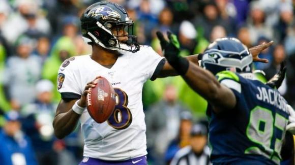 NFL 2019, 9a settimana: i Ravens stoppano i Patriots, 49ers ora soli in testa alla classifica