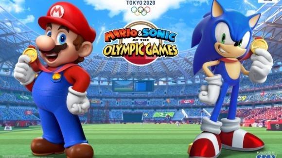 Mario e Sonic ai giochi olimpici 2020: a brevissimo disponibile per Switch