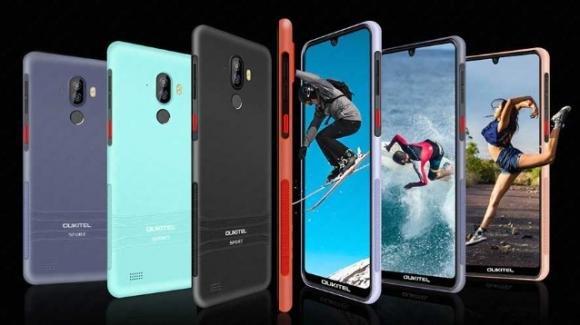 Oukitel Y1000: smartphone giovanile robusto, colorato e low cost
