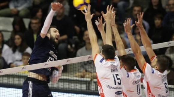 Superlega volley: Ravenna perde in casa contro Milano 3-0