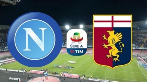 Serie A Tim: probabili formazioni di Napoli-Genoa