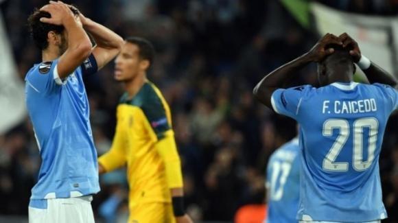 Europa League: Lazio sconfitta contro il Celtic, qualificazione a rischio