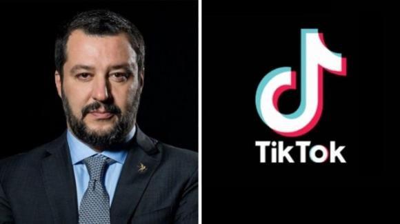 Matteo Salvini è il primo politico italiano a sbarcare su Tik Tok