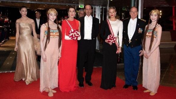 National Day di Monaco: Carolina, Charlene e Beatrice Borromeo insieme