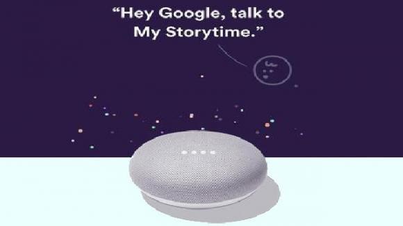 Google: la favola della buonanotte anche in assenza dei genitori