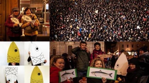 """È stata oscurata la pagina delle """"6000 Sardine"""", bersagliata da numerose segnalazioni"""