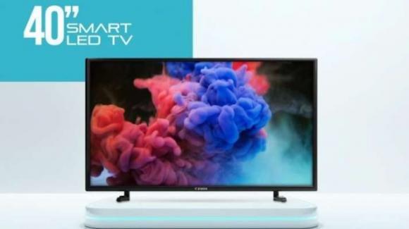 Ziox ZSLTV4001: ecco la smart TV HD da 40 pollici con audio surround