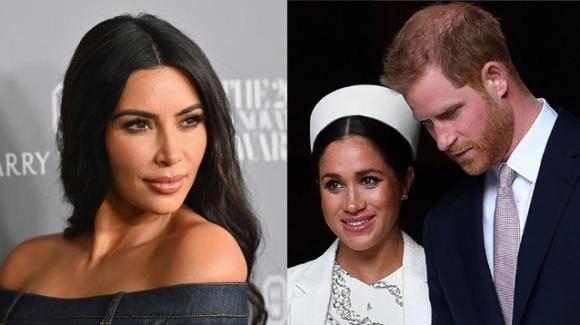 Kim Kardashian si schiera dalla parte di Harry e Meghan