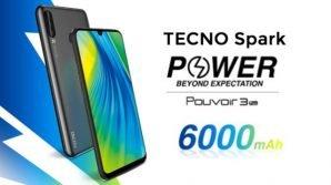 Tecno Spark Power: ufficiale con tripla fotocamera e mastodontica batteria