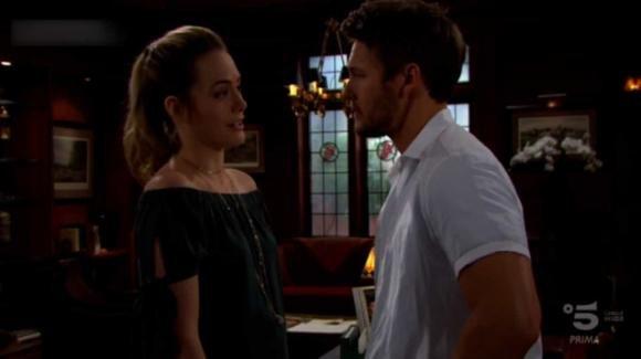 Beautiful, anticipazioni 2 dicembre: i dubbi di Zoe, brutte notizie per Liam e Hope
