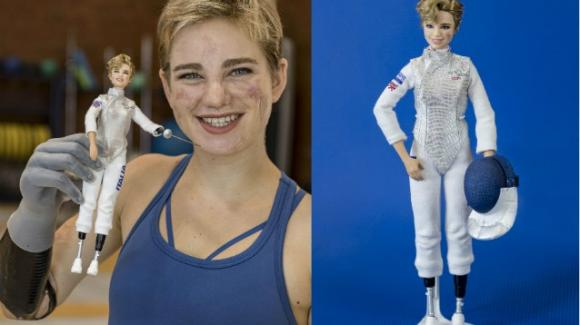 Mattel dedica una Barbie alla schermitrice paraolimpica Bebe Vio