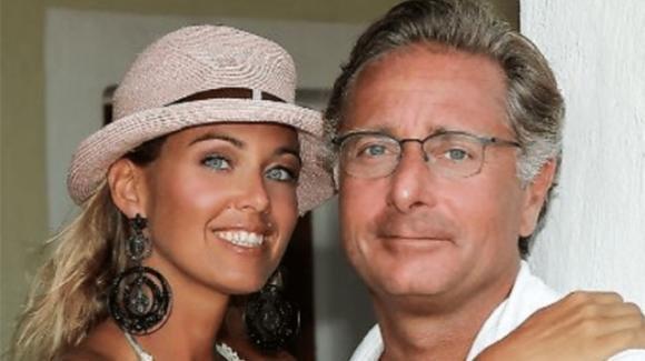 Paolo Bonolis fotografato con l'ex moglie Diane Zoeller, la reazione di Sonia Bruganelli