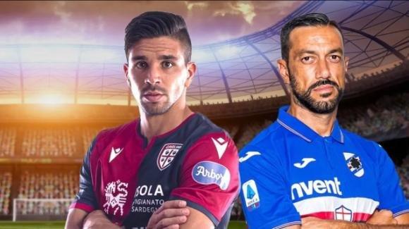 Serie A Tim: probabili formazioni di Cagliari-Sampdoria