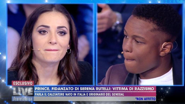 Prince, fidanzato di Serena Rutelli, vittima di discriminazioni