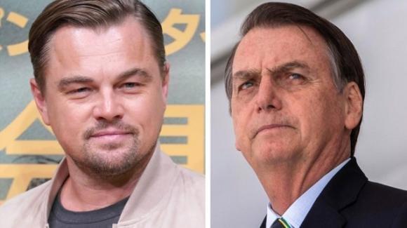 Jair Bolsonaro accusa Leonardo DiCaprio di aver contribuito agli incendi in Amazzonia