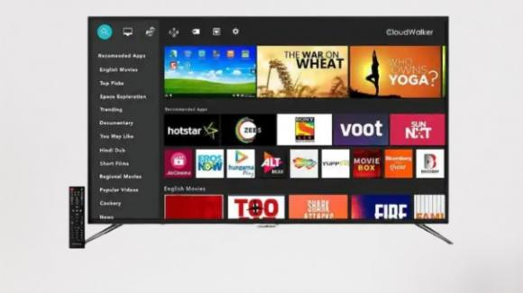 LED Smart Screen 4K: da CloudWalker le smart TV con HDR 10 e multi-tasking