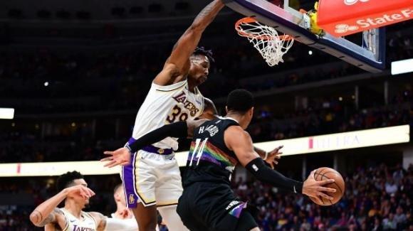 NBA, 3 dicembre 2019: i Lakers si impongono contro i forti Nuggets, gli Heat schiantano i Raptors