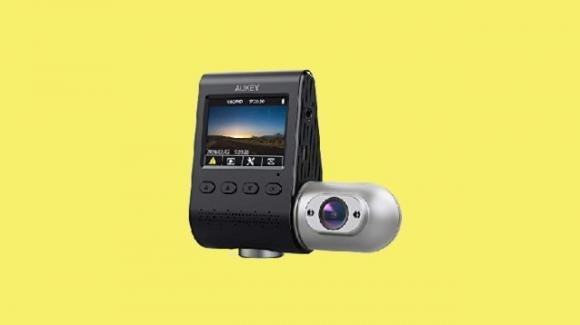 AUKEY DRS2: doppia dash cam Full HD per auto con grandangolare
