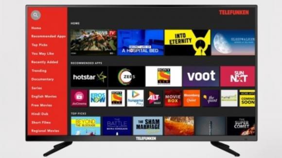 Telefunken TFK40S, ufficiale la smart TV FullHD low cost con audio surround