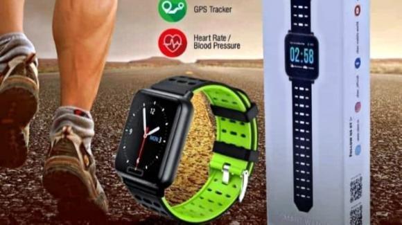 Ubon SW-11, ecco lo smartwatch sportivo economico con GPS di serie