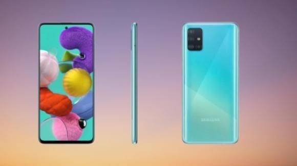 Galaxy A51 e Galaxy A71: da Samsung i potenti medio-gamma con display forato