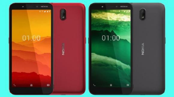 Nokia C1: ufficiale l'entry level finnico iper economico, con Android 9 Go Edition