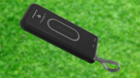 Stuffcool WB110: il powerbank da 10.000 mAh con carica wireless e cablata